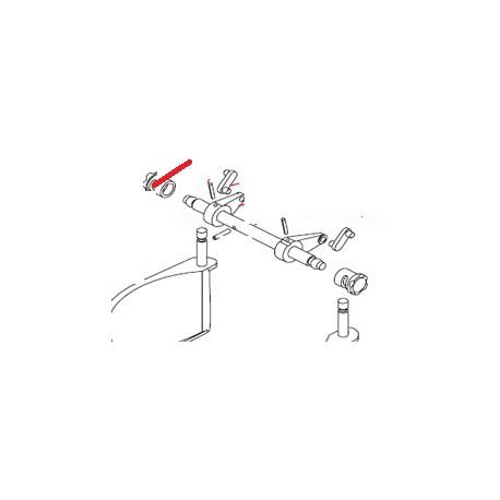 GOUPILLE MECANINDUS 5X35 J X10 ORIGINE DITO SAMA-ELECTROLUX - QFQ5Q7745
