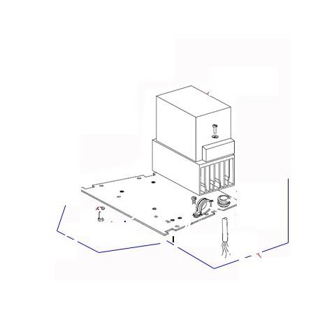 CORDON ALIM. STD EQ XBE10 ORIGINE DITO SAMA-ELECTROLUX - QFQ5Q7993