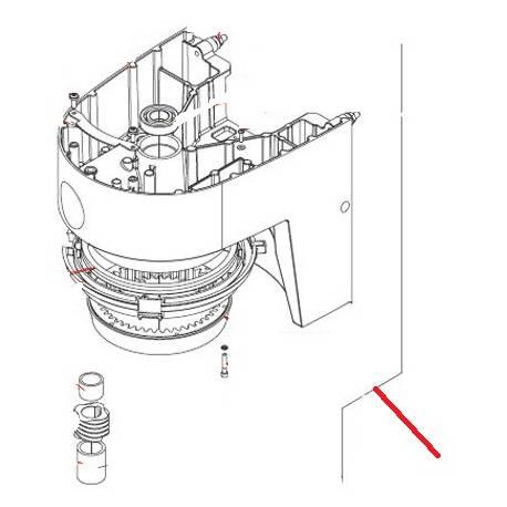ARBRE SOLAIRE EQ XBM20/30/40 ORIGINE DITO SAMA-ELECTROLUX - QFQ5Q7203