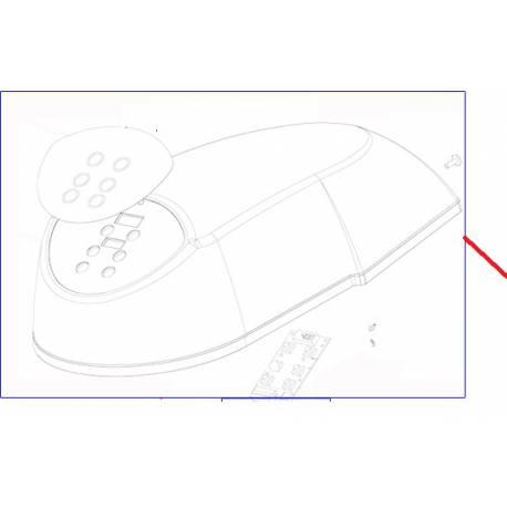 CAPOT STD TACTILE CPL. XB10 ORIGINE DITO SAMA-ELECTROLUX - QFQ5Q0875