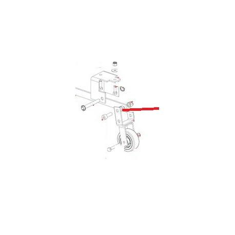 ROUE + ENTRETOISE (JEU X3) ORIGINE DITO SAMA-ELECTROLUX - QFQ5Q0802