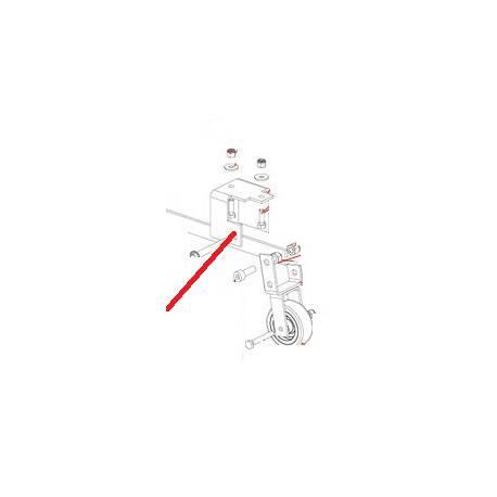 PLATINE ARRIERE XB40 ORIGINE DITO SAMA-ELECTROLUX - QFQ5Q0841