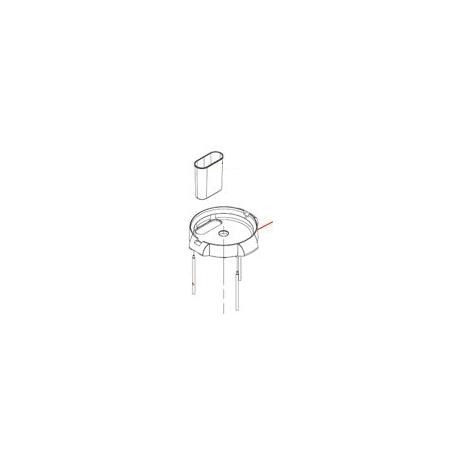 CLOISON T5E ORIGINE DITO SAMA-ELECTROLUX - QFQ5Q1583