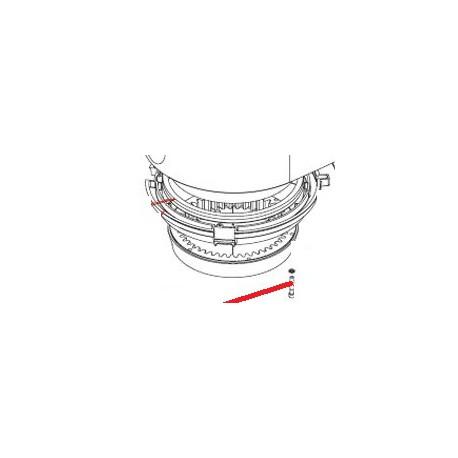 VIS CHC M5X30 ACZN J X10 ORIGINE DITO SAMA-ELECTROLUX - QFQ5Q1663