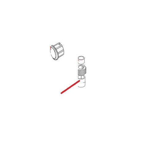 ENTRETOISE XB20 ORIGINE DITO SAMA-ELECTROLUX - QFQ5Q1685