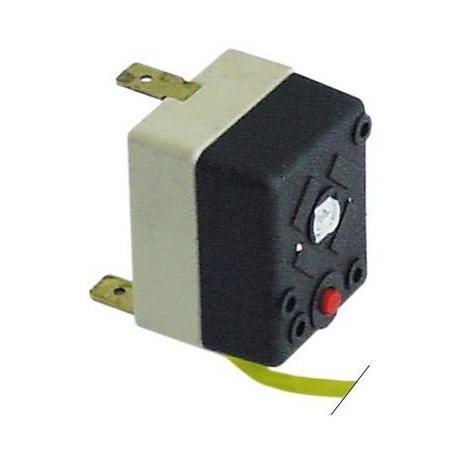 THERMOSTAT AVEC PRESSE ETOUPE M9X1 250V 16A TMAXI 125°C CAPI - TIQ75086