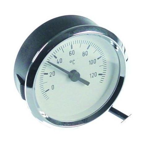 THERMOMETRE í60MM BLANC TMINI 0°C TMAXI 120°C CAPILAIRE 700M - TIQ75040