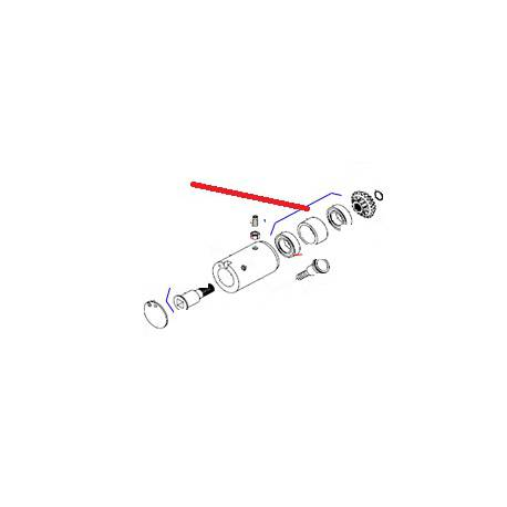 ARBRE PA EQ XBE10 ORIGINE DITO SAMA-ELECTROLUX - QFQ5XK724