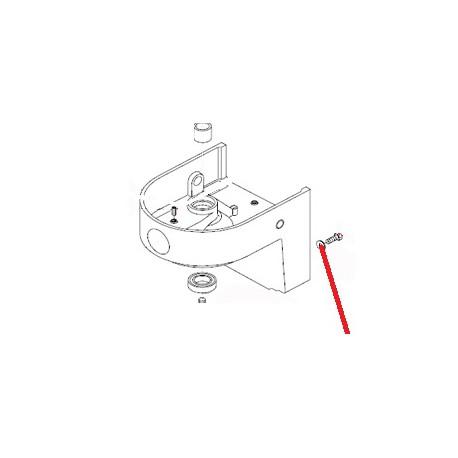 RONDELLE W8 J X10 ORIGINE DITO SAMA-ELECTROLUX - QFQ5H5115