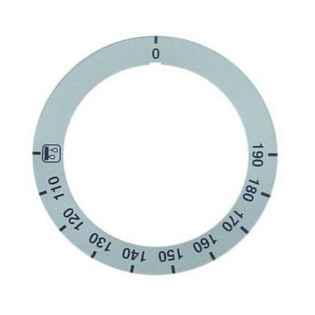 SYMBOLE MANETTE 110°-190°C ORIGINE AMBACH - TIQ75125