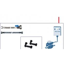 KIT BRITA PREMIUM COMPTEUR GRAND DEBIT+FLEXIBLES+RACCORD COU - IQ0688