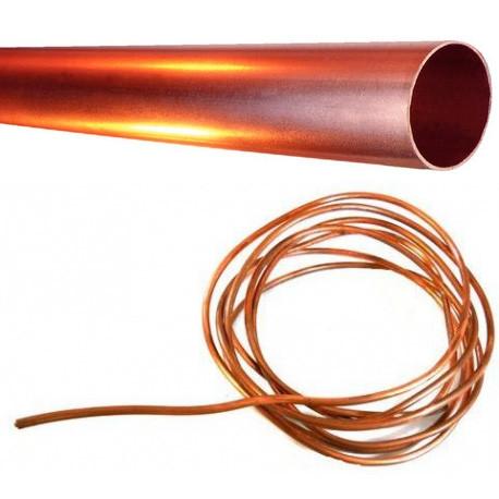 TUBE L:1000MM í4MM CUIVRE - TIQ64819