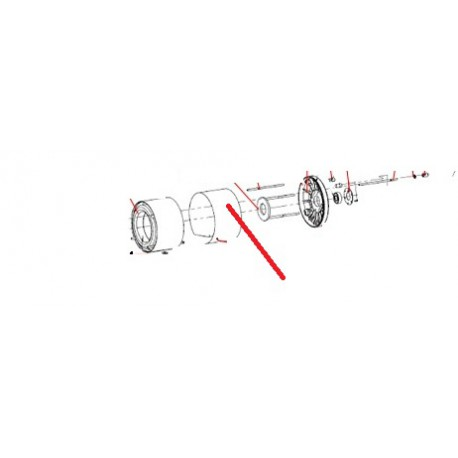 STATOR BOBINE COMPLET AV ORIGINE SANTOS - FAQ63860