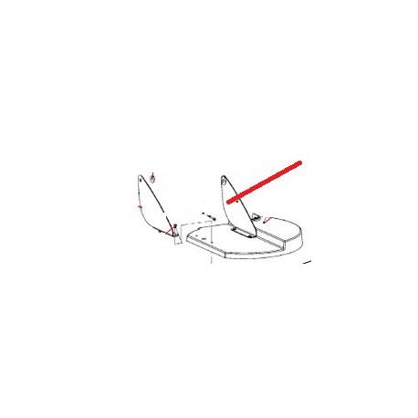 RONDELLE PLATE 9 X 22 X 1.5 ORIGINE SANTOS - FAQ63163