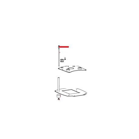 RONDELLE PLATE 5 X 20 X 1 ORIGINE SANTOS - FAQ00095