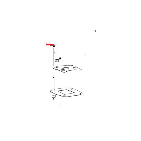 ECROU H M 5 ZN ORIGINE SANTOS - FAQ00096