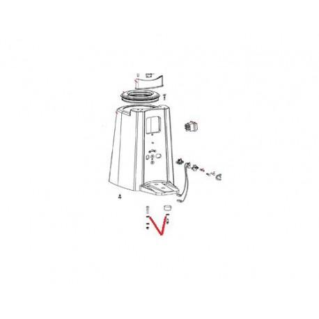 RONDELLE PLATE 5 X 12 ZN ORIGINE SANTOS - FAQ00178