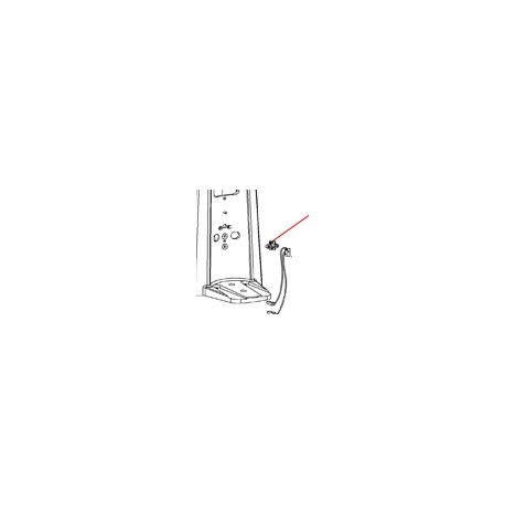 COUVERCLE DE SUPPORT ORIGINE SANTOS - FAQ00358