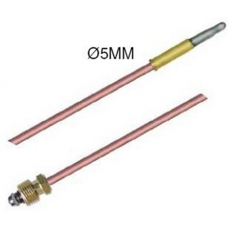 TIQ7544-THERMOCOUPLE 750MM BAGUE 5MM