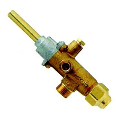 ROBINET GAZ CAL 3200 AVEC GICLEUR 1.20 RACCORDEMENTS M18X1.5 - TIQ76625