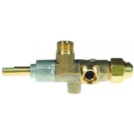 ROBINET GAZ CAL 3200 AVEC INJECTEUR 0.90 RAC TC M8X1 - TIQ76628