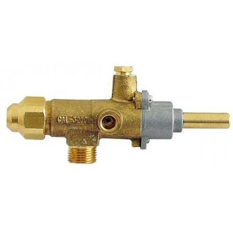 ROBINET GAZ 0.80 FTG-110 - TIQ76620