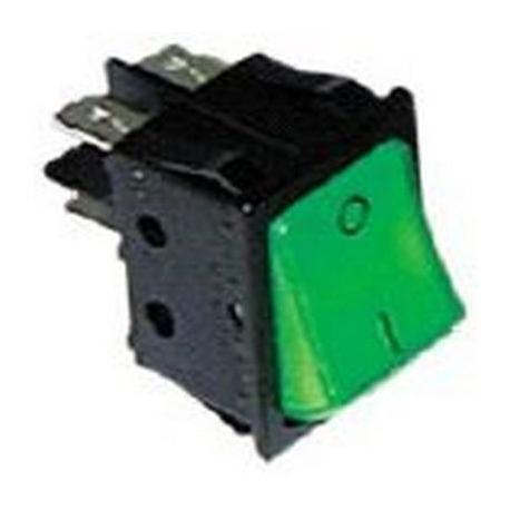 INTERRUPTEUR VERT 16A/250V - TIQ665565
