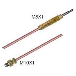 THERMOCOUPLE SIT M10X1 / FILET M8X1 L:450MM