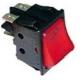 INTERRUPTEUR ROUGE 16A/250V - TIQ665567