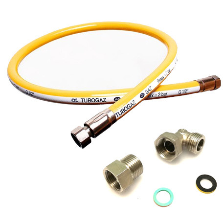 FLEXIBLE GAZ TUBOGAZ FF 1/2 - TIQ66071