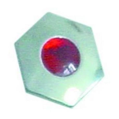 TIQ77762-PLASTRON POUR MANETTE ROUGE