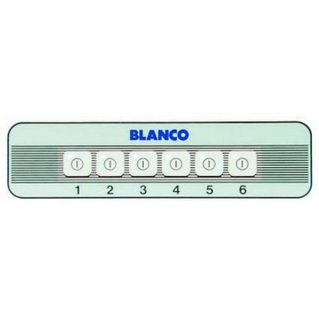 PLASTRON 6-TOUCHES - TIQ77786