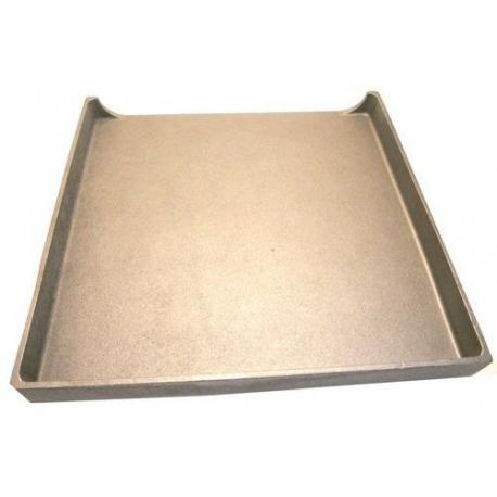 PLAQUE FONTE GRILLADE PSG400/PSE400 L:400MM L:400MM H:40MM - TIQ77728