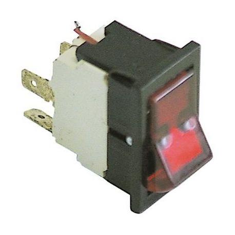 TIQ62069-VOYANT ROUGE 16A/250V 35X20