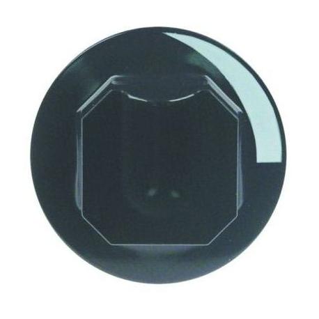 TIQ77226-MANETTE D70 NOIRE AXE:D10X8MM
