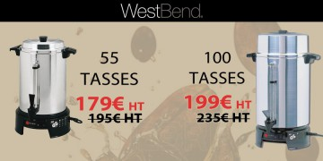 The top of West Bend is at EEVAD with delivery at 1 €