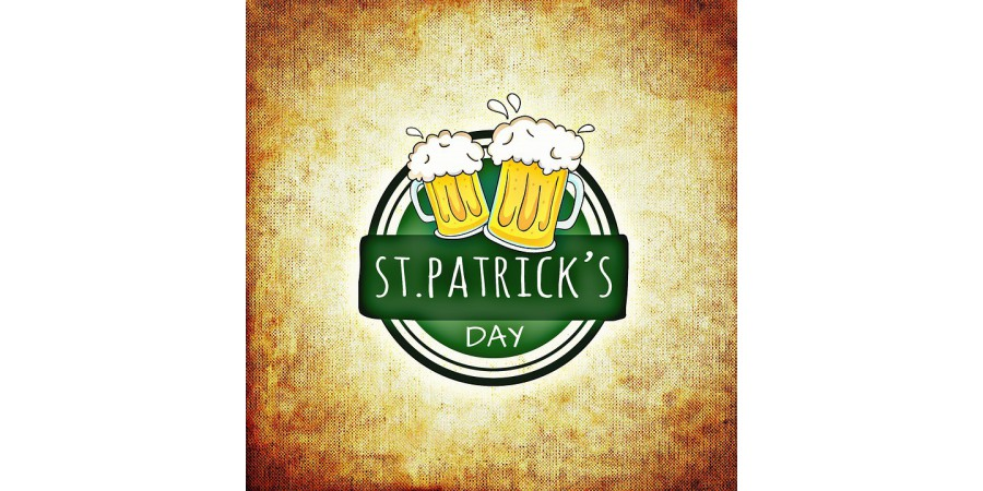 St. Patrick's Day and his Draught Beer Tap !