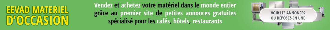Vendez et achetez votre matériel dans le monde entier grâce au premier site de petites annonces gratuites spécialisé pour les cafés, hôtels, restaurants