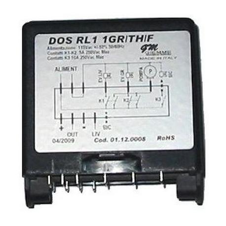 TIQ665510-CENTRALE GIEMME RL1-1GR+RL/TH/