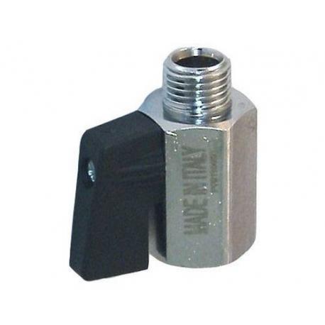IQ745-ROBINET SORTIE 1/4 F - 1/4 M