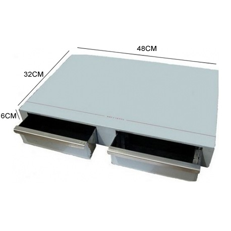 ZP950-BAC A MARC INOX 2 TIROIRS