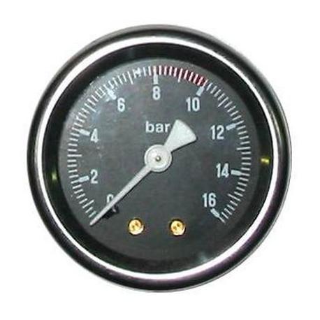 NFQ07-MANOMETRE 16 KG.SORTIE 1/4.D50