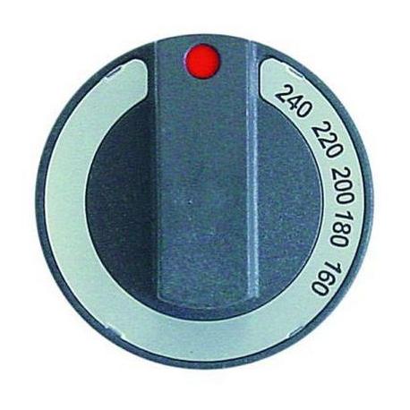 TIQ78559-MANETTE 160-240ØC AXE:D6X4.8MM