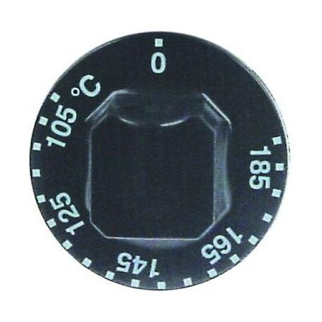 TIQ78570-MANETTE 105ø-185øC D55MM NOIRE
