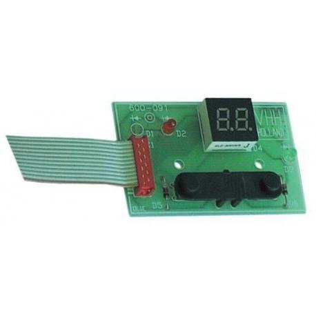 TIQ66459-PLATINE MATIC/NEU/THA 62029660 ORIGINE BRAVILOR