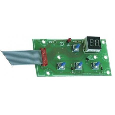 TIQ66451-PLATINE RL121-REF 6202998000 ORIGINE BRAVILOR