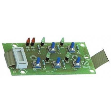 TIQ66452-PLATINE RL221/222- 6213206000 ORIGINE BRAVILOR