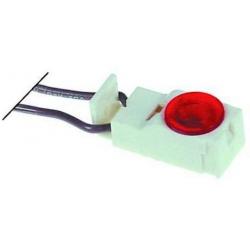 LAMPE TEMOIN D35X16MM 230V