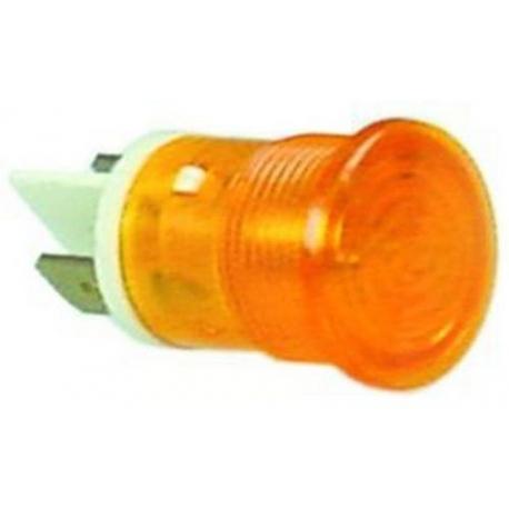 TIQ78639-LAMPE TEMOIN JAUNE D16.0MM