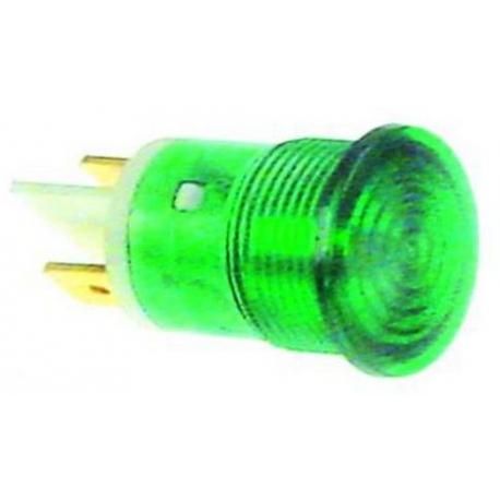 TIQ78631-VOYANT VERT 230V í16MM F 6.3MM